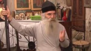 Архимандрит Иустин Мамалла, настоятель монастыря у колодца Иакова
