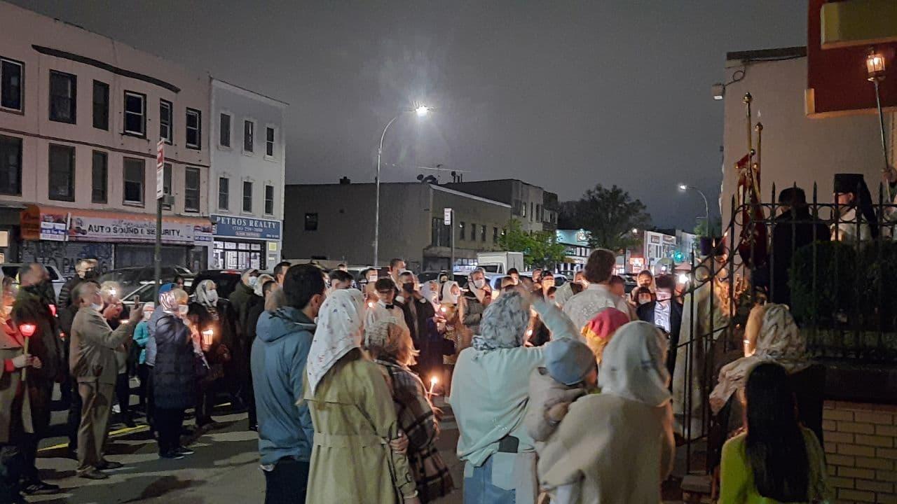 Пасха Христова, Бруклин, 2021